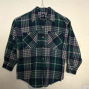 Gap Vintage BOYS plaid shirt